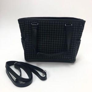 Thirty One Hounds Tooth Handbag
